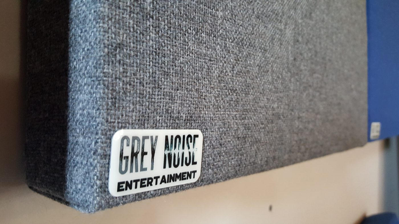 Grey Acoustic Treatment Panel